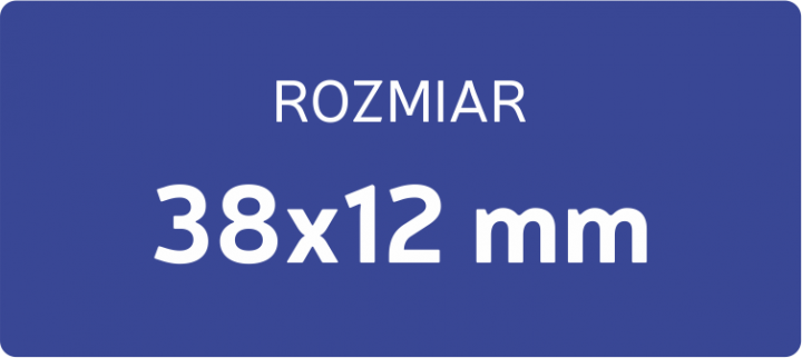 POLIMER DO PIECZĄTKI 38x14 mm
